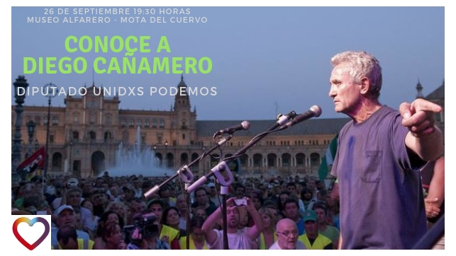Diego Cañamero visitará Mota del Cuervo