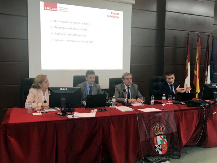 La UCLM aprueba un presupuesto de 229 millones de euros para 2019