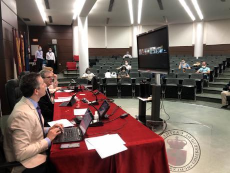 Primer Consejo de Gobierno de la UCLM tras el levantamiento el estado de alarma