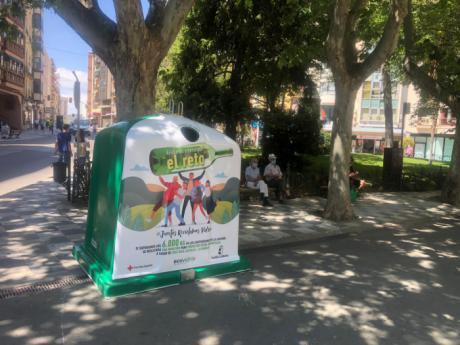 Cuenca supera el reto 'Juntos reciclamos' y recicla con otros nueve municipios 7.573 kg de vidrio a favor de Cruz Roja