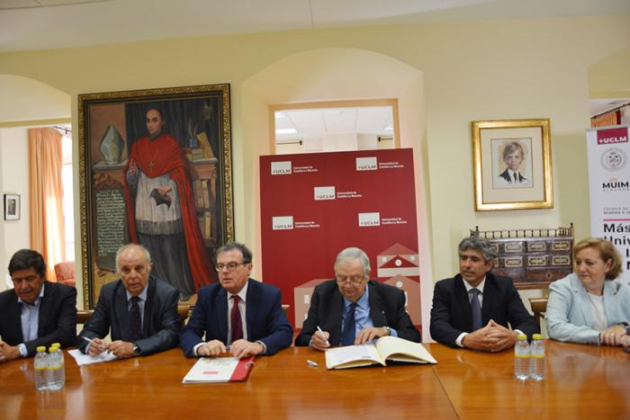El nuevo Máster Universitario en Ingeniería de Minas de la UCLM contará con la colaboración del Colegio de Minas de Levante