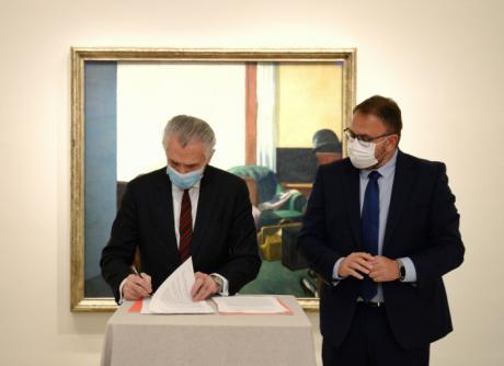 El Grupo de Ciudades Patrimonio y el Museo Thyssen-Bornemisza sellan un acuerdo para la promoción conjunta
