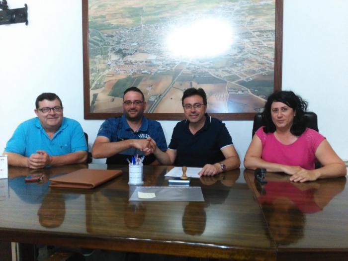 Firmado convenio con el Club Deportivo Básico de Fútbol de Mota del Cuervo