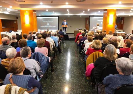 El programa 'Tiempo para Emprender' reúne en una jornada de convivencia a sus 272 participantes mayores de 60 años