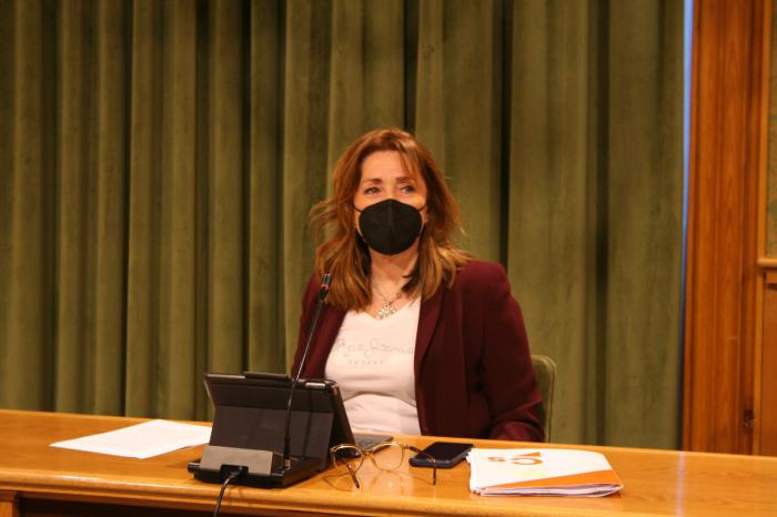 Cristina Fuentes, portavoz del grupo municipal Ciudadanos en Cuenca
