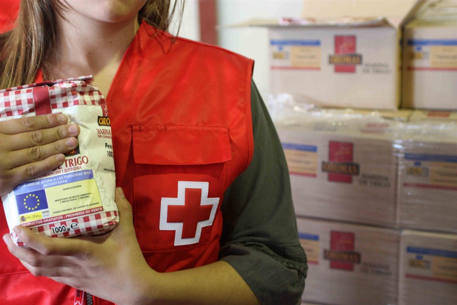 Cruz Roja reparte 120.842 kilos de alimentos a 27 entidades ...