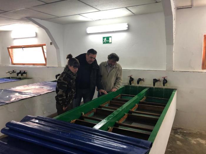 Se organizan seis cursos de iniciación a la pesca coincidiendo con el 30 aniversario de la Escuela Regional de Pesca Fluvial