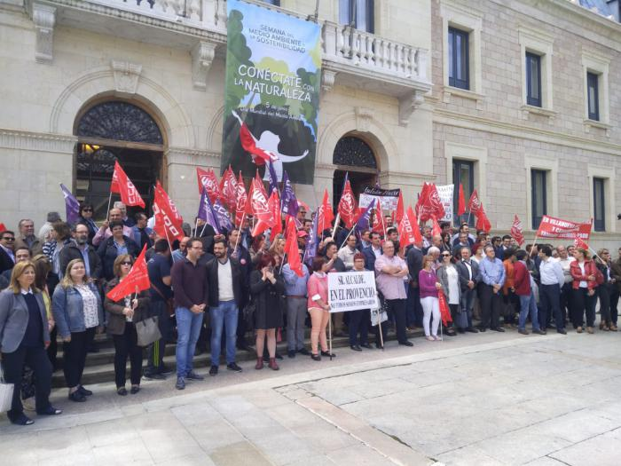 """Azcoitia: """"Tres conquenses al día encontrarían trabajo si la Diputación se adhiere al Plan Extraordinario de Empleo de la Junta"""""""