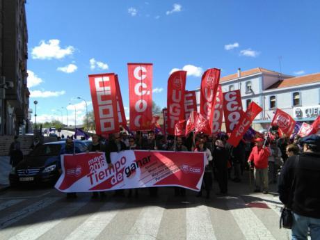 Igualdad, mejora salarial y pensiones dignas centran la manifestación del 1 de mayo en Cuenca