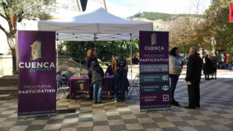 Cuenca, en Marcha! afronta su tercer y último mes de recogida de propuestas superando las 200