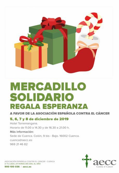 La AECC en Cuenca organiza su tradicional mercadillo solidario