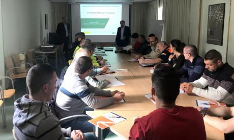 La Junta forma en Cuenca a 35 profesionales para intervenir en emergencias ferroviarias