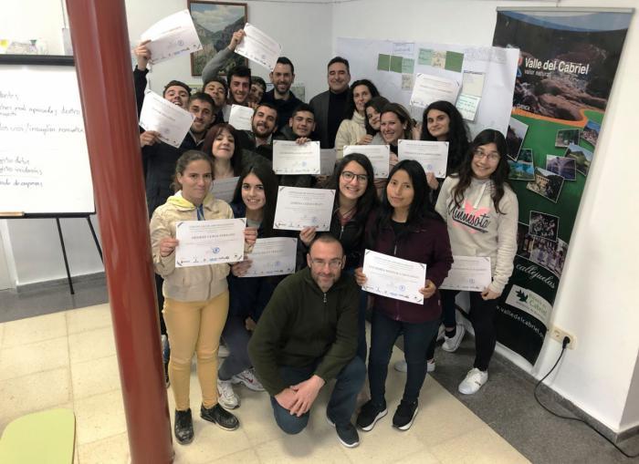 La Junta apoya la formación de jóvenes como Ecovigilantes de las Chorreras del Cabriel