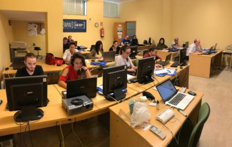 CEOE CEPYME Cuenca imparte en Iniesta un curso de producción y edición de video en las redes sociales