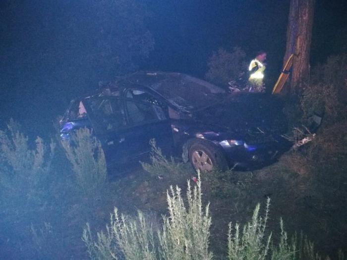 Trasladado al hospital tras sufrir un accidente de tráfico en Carboneras