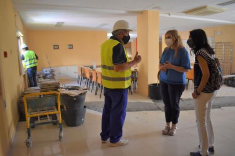 Comienzan las obras de reforma en la Residencia Universitaria Maria de Molina que acogerá a los alumnos de Estudios Penitenciarios