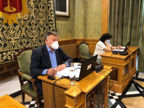 Dolz analiza en el Estado del Municipio los principales proyectos puestos en marcha en la ciudad