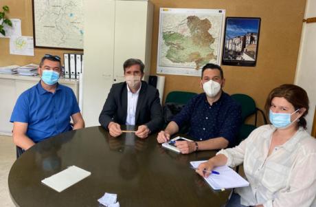 El Gobierno regional, el Ayuntamiento de Enguídanos y el Ayuntamiento de Víllora acuerdan establecer un cupo de visitantes para las Chorreras del Cabriel