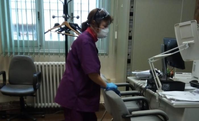 Diputación contrata una empresa para desinfectar todos los edificios provinciales