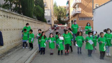 La Diputación celebra el Día de la Biodiversidad con un centenar de niños de los colegios Federico Muelas y El Carmen