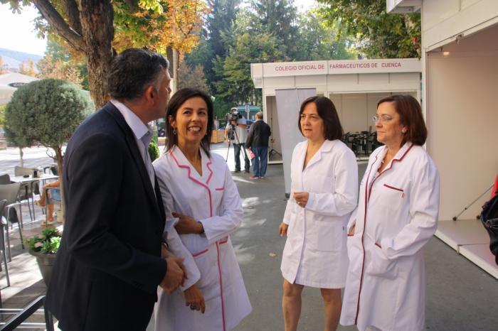 """Godoy felicita y reconoce el trabajo de los farmacéuticos como """"verdaderos agentes sanitarios"""""""