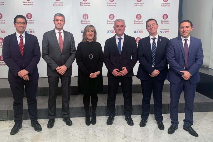 El reto demográfico centra la reunión de la Comisión de Diputaciones que se ha celebrado hoy en Barcelona