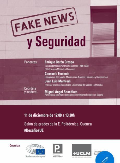 La Facultad de Periodismo promueve el debate sobre las noticias falsas y la seguridad