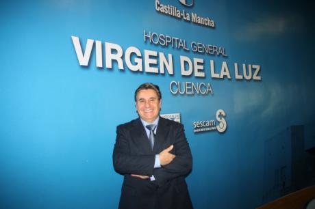 """El jefe de Estudios del Hospital de Toledo imparte una conferencia sobre biomarcadores en Neumonía en el """"Virgen de la Luz"""""""