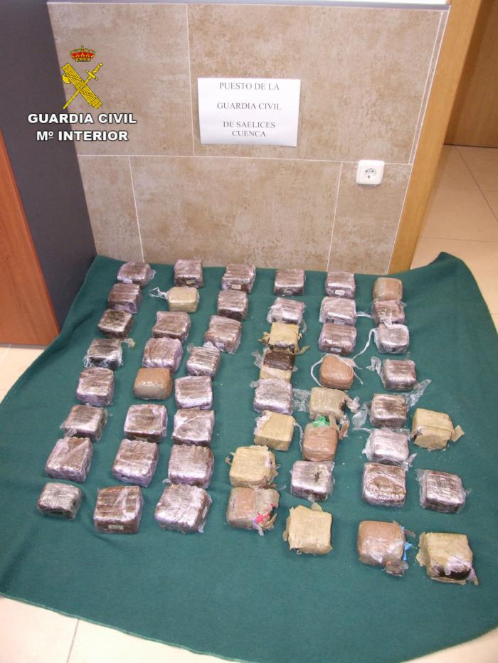 Detenidas dos personas por tráfico de drogas