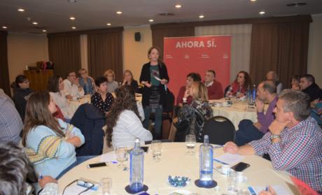 Gracia Canales recuerda que el voto al PSOE significa una apuesta por el Estado de Bienestar
