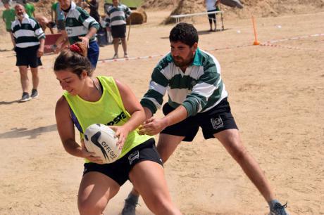 El Club de Rugby A Palos celebró con éxito su I Torneo 'Tocata-Playa' a orillas del pantano de Alarcón