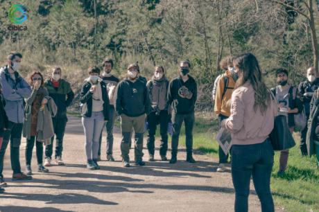 Los participantes de UFIL visitan cibica para captar información sobre la que realizarán sus retos