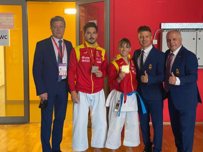 La Asociación de Clubes Deportivos inicia unas jornadas ligadas al deporte base y salud con tres referencias mundiales del kárate