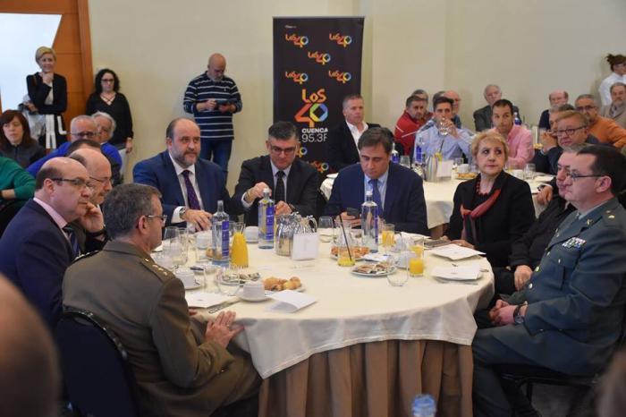 Martínez Guijarro asegura que acudirá a la reunión con el alcalde de Cuenca 'con el ánimo de llegar a acuerdos'