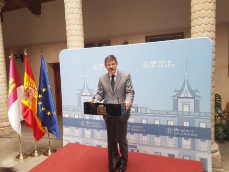Catalá confía en aprobar los PGE para acometer las mejoras que piden jueces y fiscales