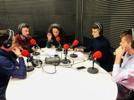 La libertad de expresión, a debate entre las jóvenes promesas de los partidos políticos