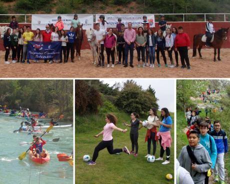 Más de 220 jóvenes han disfrutado de una intensa semana de promoción deportiva del Programa Somos Deporte 13-18