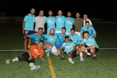 El equipo Dinamo Jasaro Mopar Tórtola se proclama Campeón del primer Torneo 12 horas de fútbol 8 de Iniesta