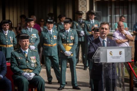 Afecto y admiración a la Guardia Civil