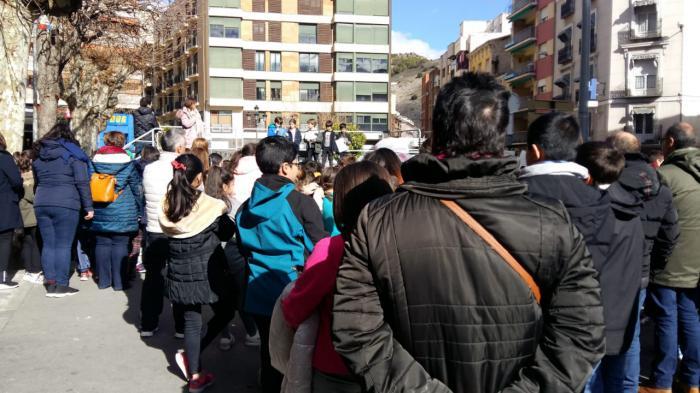 Los escolares de Cuenca celebran el Día de la paz