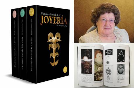 Diputación homenajeará a Teresa Jiménez Priego con la presentación de su libro 'Diccionario Ilustrado de la Joyería'