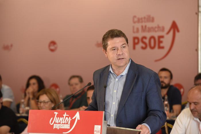 García-Page satisfecho por que 'pueda seguir el proyecto de cambio en Castilla-La Mancha'