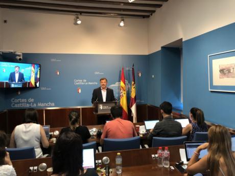 Dolz valora el compromiso de García-Page con el empleo, el desarrollo de infraestructuras y la estrategia cultural