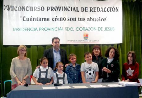 Entregados los premios del XVII Concurso Provincial de Redacción de la Residencia Sagrado Corazón de Jesús