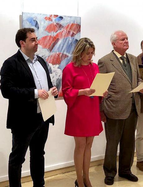 Doménech asiste a la entrega de los premios del XXX Certamen de Artes Plásticas Fernando Zóbel