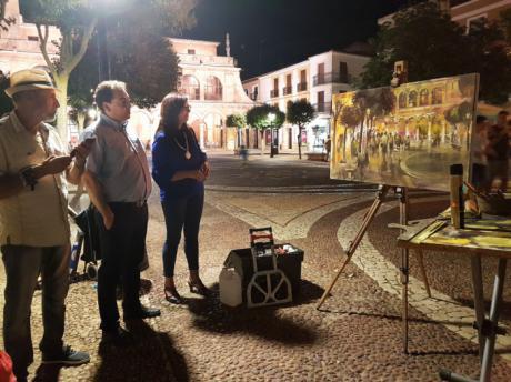 Entregados los galardones del X Certamen de Pintura Rápida Nocturna 'Villa de San Clemente'