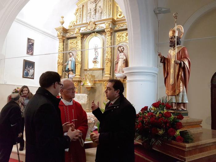 Comienza la rehabilitación y mejora de la iglesia de San Miguel Arcángel de La Peraleja