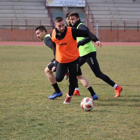 El Conquense quiere hacer bueno el 1-1 de la ida ante el Internacional de Madrid