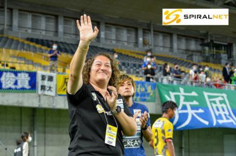 La entrenadora conquense de fútbol Milagros Martínez se despide del Suzuka
