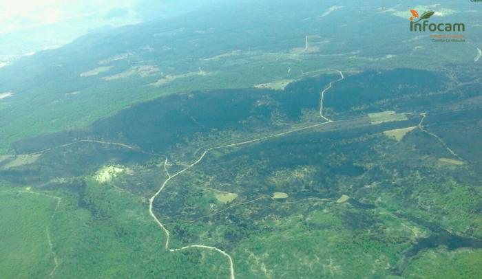Controlado el incendio forestal de Víllora